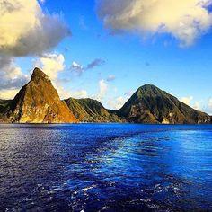 Saint Lucia in tutta la sua bellezza. #lavitahabisognodicaraibi #viaggi #Caraibi