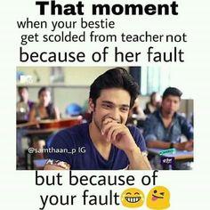 Hahahaha .. But I feel guilty