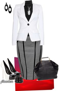 """black & white"" by htimss on Polyvore"