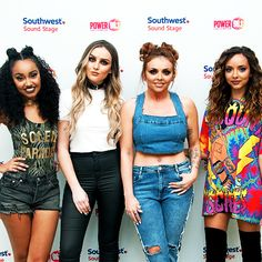 Find images and videos about little mix, perrie edwards and jesy nelson on We Heart It - the app to get lost in what you love. Little Mix Outfits, Little Mix Style, Jesy Nelson, Perrie Edwards, Celebrity Outfits, Celebrity Style, Adeline Morin, Little Mix Photoshoot, Litte Mix