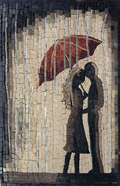 Marble Tile Mosaic Art, Custom Mosaic Tile Artwork, Contemporary Marble Mosaic Tiles Design - Mosaics Lab