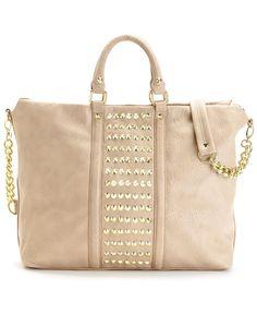 Taupe Steve Madden Handbag, Brocket Tote - Macy's