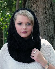 The Cozy Comfort Protect your beautiful locks from the harsh weather with this hooded cowl. Infinity scarf by day, hooded cowl by night! $89.99
