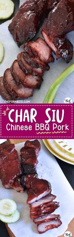Char Siu (Chinese BBQ Pork) | The Fork Bite
