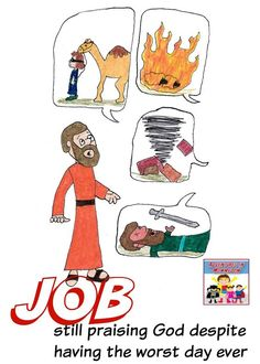 Job Bible lesson for kids