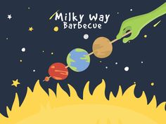 Milky Way Barbecue