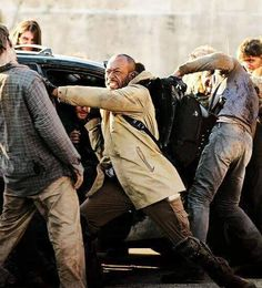 "The Walking Dead 5x16 ""Conquer"" Morgan Jones"