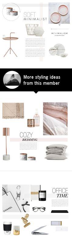 """Soft Minimalist"" by nmkratz on Polyvore featuring interior, interiors, interior design, home, home decor, interior decorating, HAY, ferm LIVING, Menu and CB2"