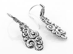 Pre Owned Sterling Silver Earrings Ppp863 Sterling Silver Earrings Silver Earrings Sterling Silver