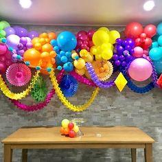 Image result for gradation organic balloon decor