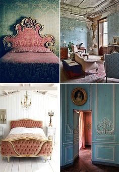 the faded grandeur style of The Grand Budapest Hotel