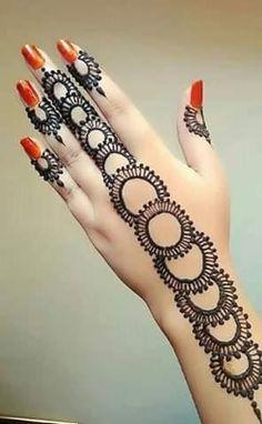 New Eid Special Mehndi Designs _ Easy and Beautiful Mehndi Design Eid Special Mehndi Design, Arabic Bridal Mehndi Designs, Back Hand Mehndi Designs, Mehndi Designs 2018, Mehndi Design Photos, Mehndi Designs For Fingers, Beautiful Mehndi Design, Tattoo Henna, Henna Mehndi