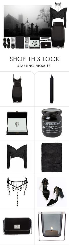 """""""391 ~She had those crow black eyes~"""" by snake-eyes-and-sissies ❤ liked on Polyvore featuring Agent Provocateur, By Lassen, D.L. & Co., Alicia Adams, Cherryville, Jimmy Choo, Leonardo and Manic Panic NYC"""