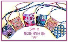 Eco-friendly Necktie Hipster Bag - Free Sewing Tutorial