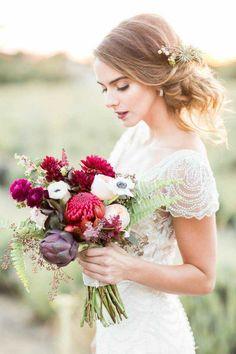 wedding hairstyle; Photographer: Koman Photography