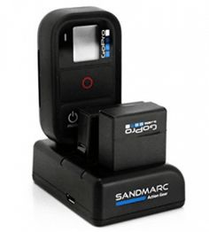 SANDMARC Procharge Triple Charger for GoPro Hero 4 3 3 and Smart WiFi Remote *** For more information, visit image link. Gopro Remote, Gopro Camera, Photography Camera, Underwater Photography, Photography Tips, Gopro Hero 4 Black, Gopro Hero 3, Smartphone, Products