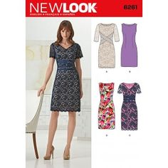 6261 - Dresses - New Look Patterns