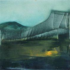 "Saatchi Art Artist Valentin Marian Ionescu; Painting, ""Landscape #2"" #art"