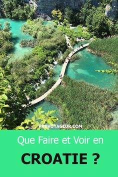 That faire et voir in Croatie lors d& voyage d& semaine. Paris Travel, Travel Usa, Montezuma, Monteverde, Places To Travel, Travel Destinations, Road Trip With Kids, Travel Drawing, Travel Wallpaper
