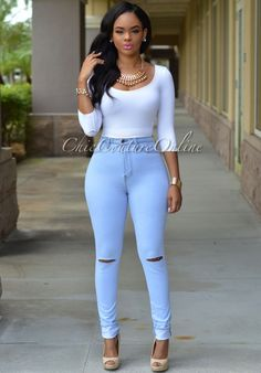 Chic Couture Online - Kenya Bleached Blue Denim Cut-Out Knees Jeans, (http://www.chiccoutureonline.com/kenya-bleached-blue-denim-cut-out-knees-jeans/)