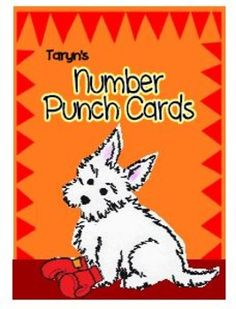 $ What a super fun way for students to practice their numeral recognition while developing their fine motor skills.  Simply print, copy on tag board, slide, and your students are ready for center time.  This is a loved format and activity.