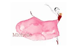 Red Ballerina by Sharon McKeeman. I want someone to make something like this for my kids one day