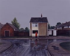 First Day of the Holidays, George Shaw.