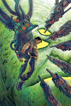All New Invaders #3 - Namor by Mukesh Singh *