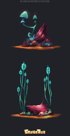 Stone Age | Decorations on Behance