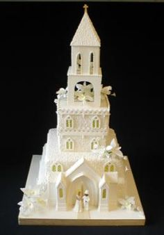 If I had to choose again, I would pick a church shaped wedding cake no matter how cheesy everyone else thinks it is. I just love it.