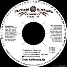 Potosi Brewing Hefeweizen Ale