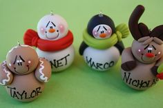 such cutie ornaments, Totally going to make them next year :)
