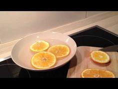Mikrowellenreinigung - Mit Orangen und Wasser die Mikrowelle reinigen