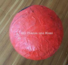 piñata-pokeball-diy Pokeball Diy, Pokemon, Frozen, Food, Diy Decorating, Crafts To Make, Essen, Meals, Yemek
