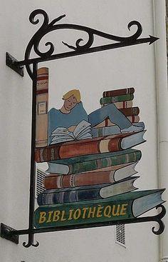 Libreria, La Roche-Bernard, Francia