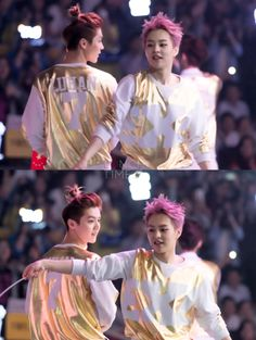 the way when lulu looking at xiumin <3__<3