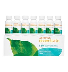 Arbonne 7 day body cleanse