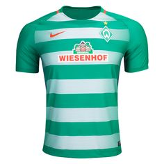 Werder Bremen 16/17 Home Soccer Jersey | $89.99 | Holiday Gift & Stocking Stuffer ideas for the Werder Bremen fan at WorldSoccerShop.com
