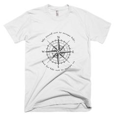 Compass Travel T-Shirt White