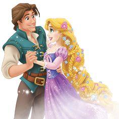 Taller de cliparts: He vuelto y os ofrezco clips de Rapunzel