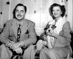William Powell, Myrna Loy and Asta