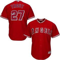 7f2f7d31a68 Mike Trout LA Angels of Anaheim Majestic Official 2015 Authentic Collection  Cool Base Alt Player Jersey