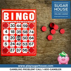 Play our daily Bingo game w/ increased payouts TODAY randomly from 10am-9pm. To be eligible, you must have deposited within the last 30 days, and must be logged in and playing five to ten minutes prior to the start of such event in order to be invited. We'll be paying out $20, $15, and $10 in Bonus Cash for your piggy bank! #becauseyoudeservemore #bonus #cash #money #bingo #payout #giveaway #holidays #giveback #sugarhouse #newjersey #onlinecasino