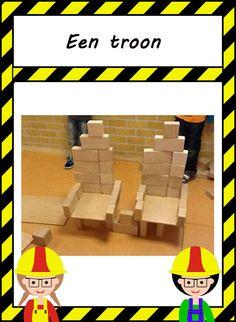 De bouwhoek: Bouwinspiratie Knight, Lego, School, Crowns, Legos, Cavalier, Knights