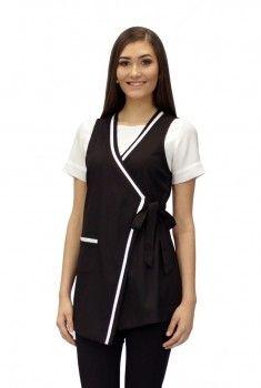 Barber Apron, Restaurant Uniforms, Work Attire, Scrubs, Ideias Fashion, Dresses For Work, Couture, Blouse, Clothes