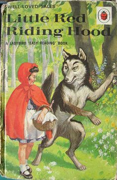 Ladybird Books - Little Red Riding Hood by Bollops - OMG! I used to have a book with these illustrations! Ladybird Books, My Childhood Memories, Childhood Toys, 1970s Childhood, Images Vintage, Little Golden Books, Vintage Children's Books, Vintage Library, Antique Books