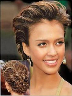 wedding updos front and back view -