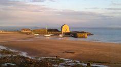 Elie Harbour at Dawn, Fife, Scotland