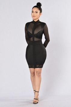 Sight to See Dress - Black http://amzn.to/2sUF3NQ