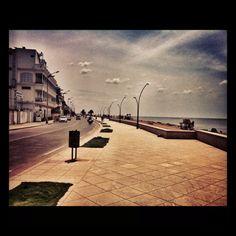 Take a walk at the beach road, Goubert Avenue, Pondicherry.